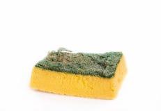 Old and Dirty Dish washing sponge Stock Image
