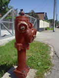 Old and dirty fire hydrant Stock Photos
