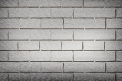 Old dirty gray brick wall Royalty Free Stock Images