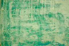 Old dirty green plaster walls Stock Photos