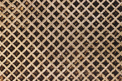 Old dirty iron frying pan surface texture Stock Photos