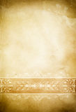 Old dirty paper background with vintage border. Royalty Free Stock Photo