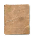 Old dirty paper sheet Stock Images