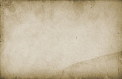 Old dirty paper texture. Royalty Free Stock Images