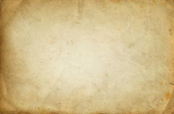 Old dirty paper texture. Royalty Free Stock Photography