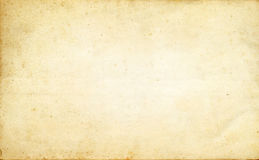 Old dirty paper texture. Stock Images