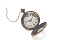 Old dirty pocket watch Stock Image