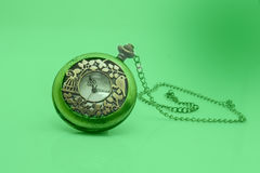 Old dirty pocket watch Royalty Free Stock Image