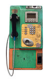 Old and dirty  public telephone Stock Image