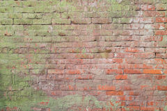 Old dirty red brick wall. Natural colored background high resolution royalty free stock photos