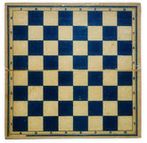 Old dirty retro chess board Stock Photos