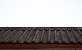 Old and Dirty Roof Tile Royalty Free Stock Photo