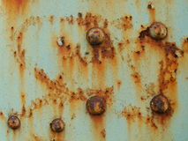 Old dirty rust metal texture Royalty Free Stock Images