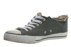 Old Dirty Shoe Royalty Free Stock Photography