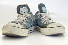 Old, Dirty Sneakers Stock Images