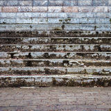 Old dirty stairs detail Royalty Free Stock Photo
