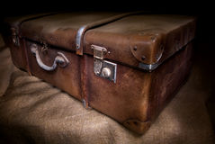 Old and dirty suitcase Royalty Free Stock Photography