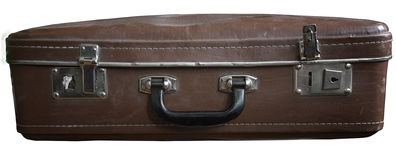 Old dirty suitcase Royalty Free Stock Image