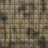 Old dirty tiles Stock Images