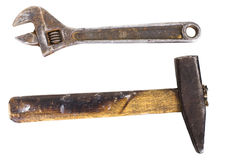 Old dirty tools Stock Image