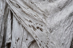 Old dirty torn rag, rag texture, vertical. Old dirty torn rag rag texture, vertical Stock Photo