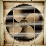 Old dirty ventilation fan Royalty Free Stock Photo