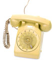 Old and dirty vintage telephone Royalty Free Stock Photos