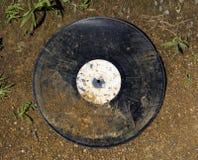 Old dirty vinyl album. Royalty Free Stock Photography