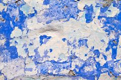 Old dirty wall. Texture - old dirty wall covered with peeling paint royalty free stock photos