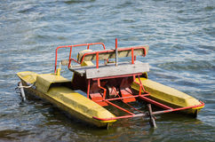 Old and dirty waterbike Royalty Free Stock Photography