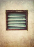 Old dirty window Royalty Free Stock Images