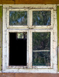 Old dirty window Royalty Free Stock Image