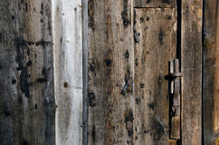 Old dirty wooden farm barn wall background Stock Photography