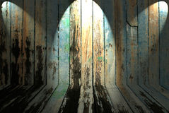 Old dirty wooden wall Royalty Free Stock Photography