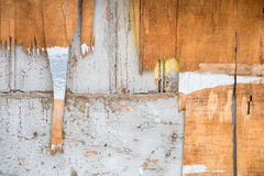 Old dirty wooden wall Royalty Free Stock Images