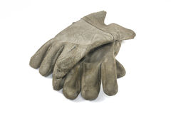 Old Dirty Work Gloves Royalty Free Stock Photos