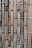 Old and dirty woven bamboo Royalty Free Stock Images