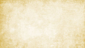 Old dirty and yellowed paper texture. Royalty Free Stock Photo