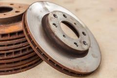 The old disc brake Stock Photos