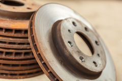 The old disc brake Royalty Free Stock Photo