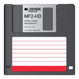Old Disk Stock Images