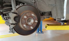 Old Disk Brake Stock Photography
