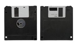 Old diskette Stock Photos