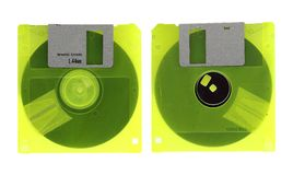 Old diskette Stock Images
