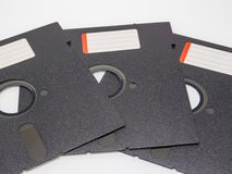 Old Diskette disk 5.25 inches Royalty Free Stock Photos