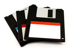 3.5 old diskette Royalty Free Stock Photo