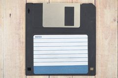 Old diskettes royalty free stock image