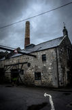 Old distillery. In brora in scotland stock images