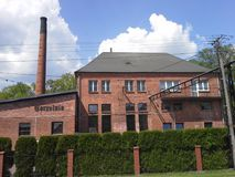 Old distillery in poland Stock Images