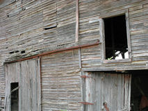 Old Distressed Barn Stock Image